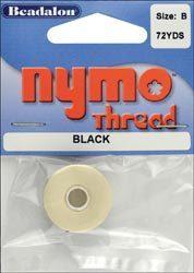 Нитки для работы с бисером Nymo.